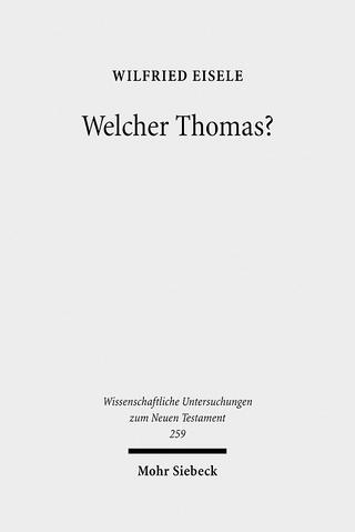 Welcher Thomas? - Wilfried Eisele