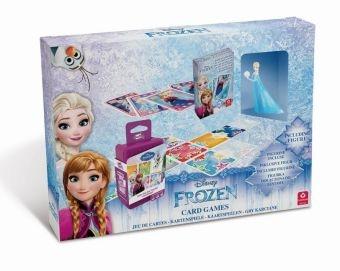 Figur Elsa Eiskönigin Cartamundi Disney Frozen Geschenkset Kartenspiele
