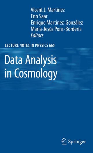 Data Analysis in Cosmology - Vicent J. Martinez; Enn Saar; Enrique Martinez Gonzales; Maria Jesus Pons-Borderia