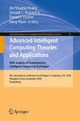 Advanced Intelligent Computing Theories and Applications With Aspects of Contemporary Intelligent Computing Techniques