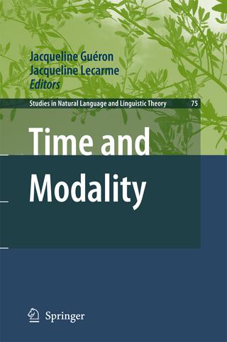 Time and Modality - Jacqueline Gueron; Jacqueline Lecarme