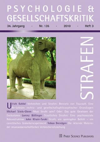 Strafen - Ulrich Kobbé
