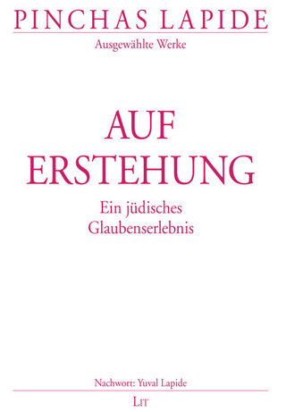 Auferstehung - Pinchas Lapide