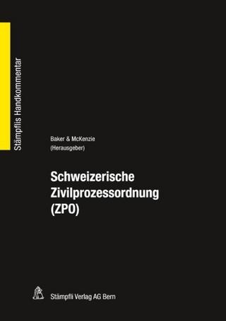 Schweizerische Zivilprozessordnung (ZPO)