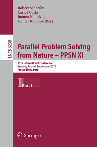 Parallel Problem Solving from Nature, PPSN XI - Robert Schaefer; Carlos Cotta; Joanna Kolodziej; Günter Rudolph