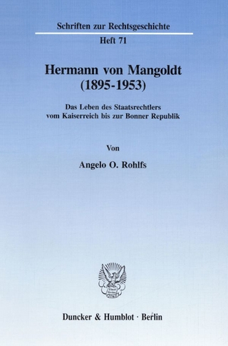 Hermann von Mangoldt (1895?1953). - Angelo O. Rohlfs