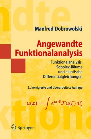 Angewandte Funktionalanalysis - Manfred Dobrowolski