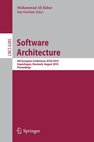 Software Architecture - Muhammad Ali Babar; Ian Gorton