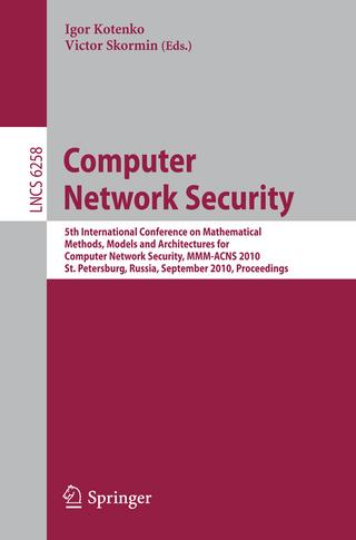 Computer Network Security - Igor Kotenko; Victor Skormin