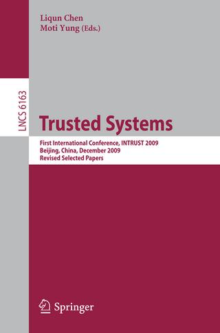Trusted Systems - Liqun Chen; Moti Yung