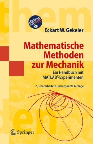 Mathematische Methoden zur Mechanik - Eckart W. Gekeler