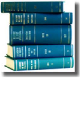 Recueil des cours, Collected Courses, Tome/Volume 341 - Academie de Droit International de la Ha