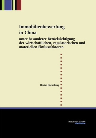 Immobilienbewertung in China - Florian Hackelberg