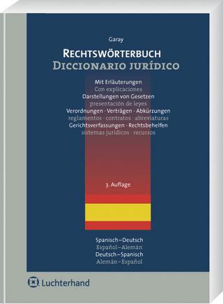 Rechtswörterbuch - Catalina Garay y Chamizo
