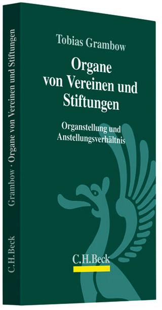 Organe von Vereinen und Stiftungen - Tobias Grambow