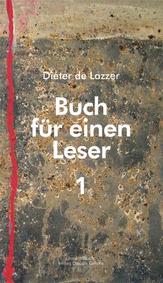 Buch für einen Leser 1 - Dieter de Lazzer