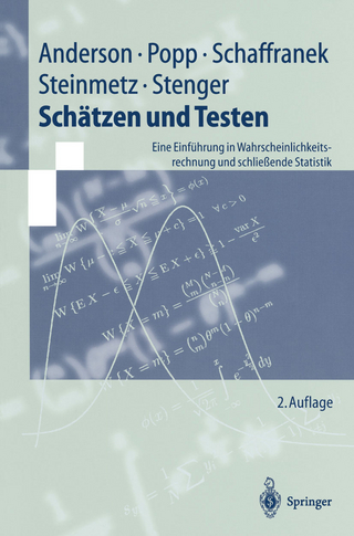 Schätzen und Testen - Oskar Anderson; Werner Popp; Manfred Schaffranek; Dieter Steinmetz; Horst Stenger