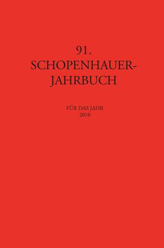 Schopenhauer-Jahrbuch - Matthias Koßler; Dieter Birnbacher