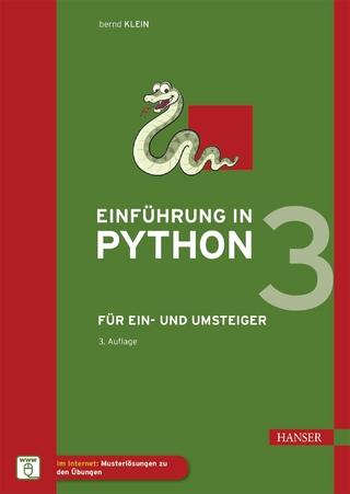 python von kopf bis fuss aktuell zu python 3