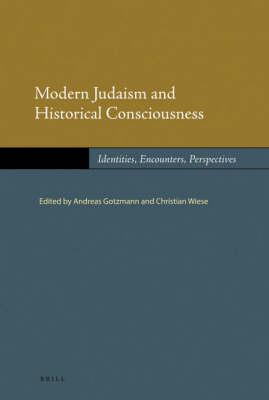 Modern Judaism and Historical Consciousness - Christian Wiese; Andreas Gotzmann