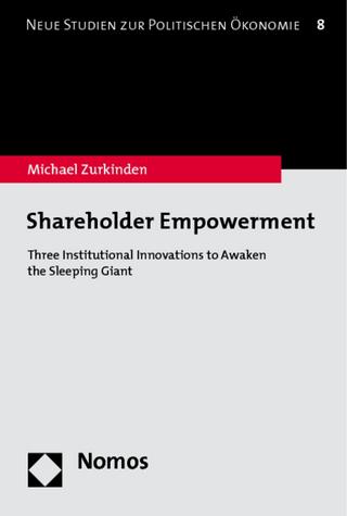 Shareholder Empowerment - Michael Zurkinden