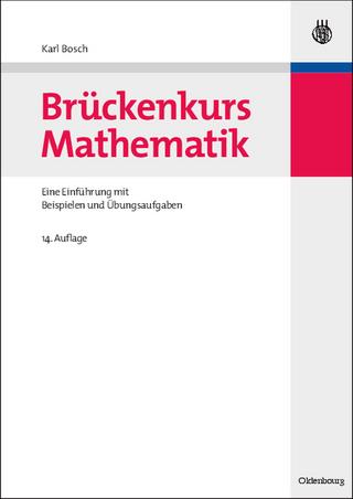 Brückenkurs Mathematik - Karl Bosch