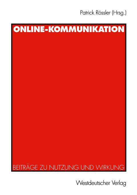 soziologie der online kommunikation beck klaus