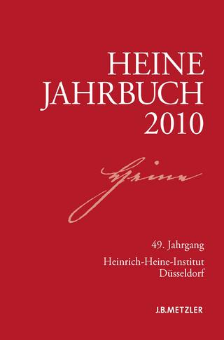 Heine-Jahrbuch 2010 - Joseph A. Kruse; Sabine Brenner-Wilczek