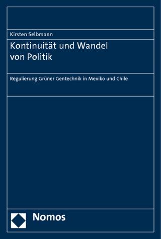 Kontinuität und Wandel von Politik - Kirsten Selbmann