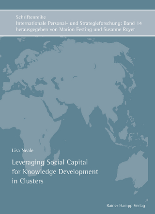 Leveraging Social Capital for Knowledge Development in Clusters - Lisa Neale