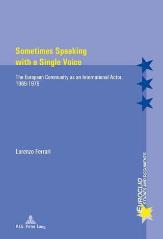 Sometimes Speaking with a Single Voice - Ferrari Lorenzo Ferrari