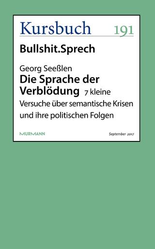 Unsinn im Sinn - Jakob Schrenk