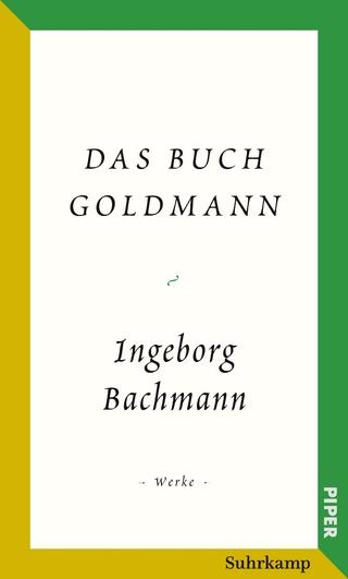 Salzburger Bachmann Edition - Ingeborg Bachmann; Marie Luise Wandruszka