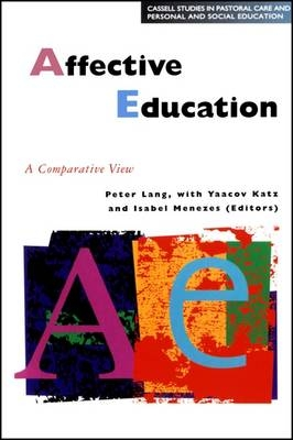 Affective Education in Europe - Lang Peter Lang