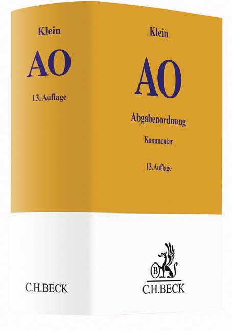 Abgabenordnung von Franz Klein | ISBN 978-3-406-68760-0 ...