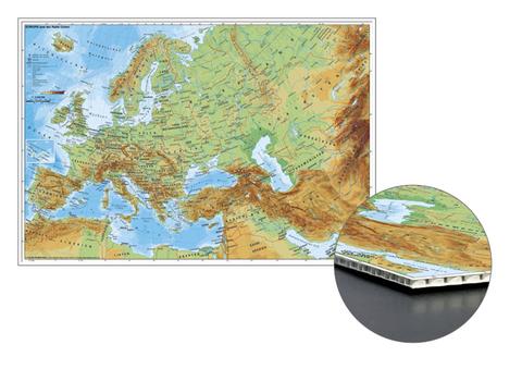Naher Osten Karte Ohne Beschriftung.Stiefel Wandkarte Kleinformat Europa Und Der Nahe Osten Physisch Zum Pinnen Auf Wabenplatte Planokarte
