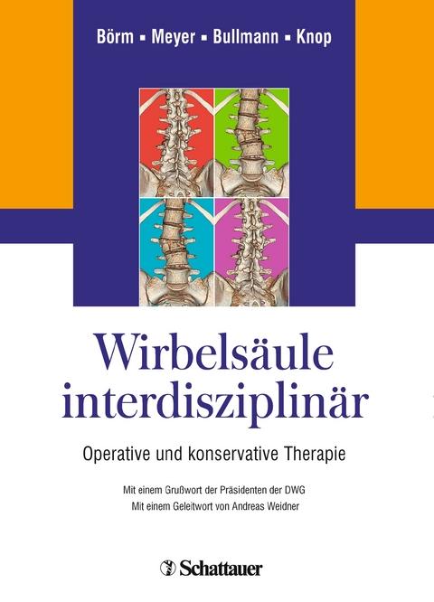 Wirbelsäule interdisziplinär von Wolfgang Börm | ISBN 978-3-7945 ...