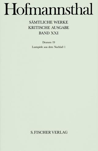 Dramen 19 - Hugo von Hofmannsthal; Mathias Mayer