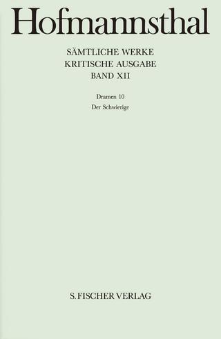 Dramen 10 - Hugo von Hofmannsthal; Martin Stern