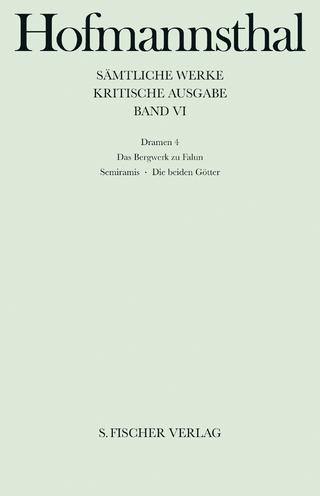 Dramen 4 - Hugo von Hofmannsthal; Hans-Georg Dewitz
