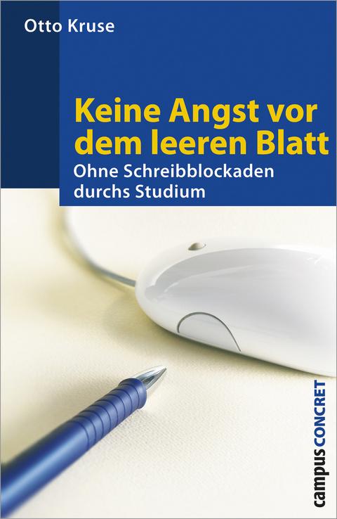 Keine Angst vor dem leeren Blatt von Otto Kruse | ISBN 978