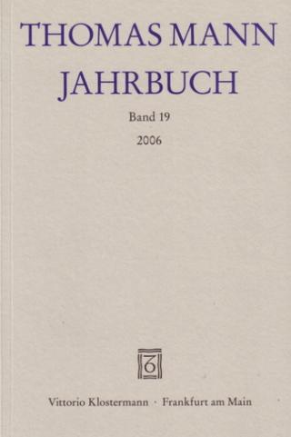 Thomas Mann Jahrbuch - Eckhard Heftrich; Hans Wysling; Thomas Sprecher; Ruprecht Wimmer