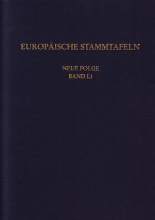Europäische Stammtafeln. Neue Folge - Detlev Schwennicke