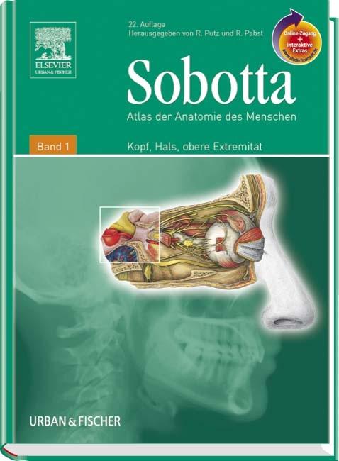 Sobotta, Atlas der Anatomie des Menschen Band 1 mit… von Reinhard ...