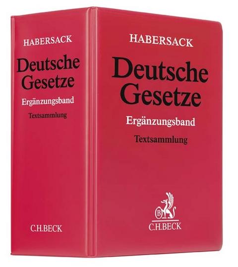 Schönfelder, Deutsche Gesetze: Ergänzungsband. Stand: 66