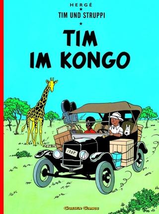 Tim und Struppi 1: Tim im Kongo - Hergé