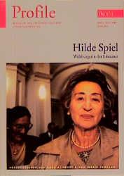 Profile 3, Hilde Spiel - Hans A. Neunzig; Ingrid Schramm
