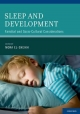 Sleep and Development Familial and Socio-Cultural Considerations