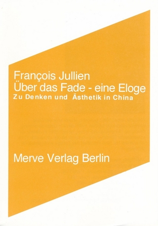 Über das Fade - François Jullien