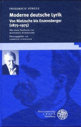 Moderne deutsche Lyrik - Friedrich Sengle; Gabriele Schneider